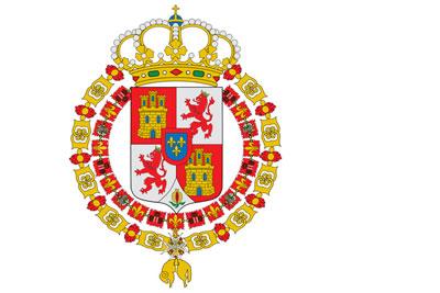 Flag of Spain 1701-1793