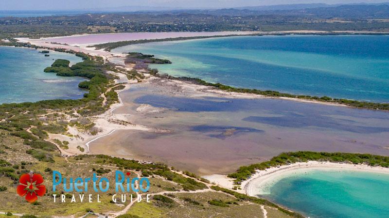 Aerial - Las Salinas / Salt Flats