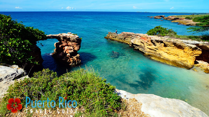 Natural Bridge - Cabo Rojo, Puerto Rico