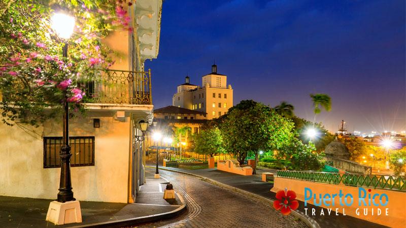 Old San Juan - Puerto Rico Romantic Destinations