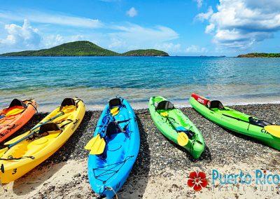 Kayaking - Playa Tamarindo / Tamarindo Beach - Culebra Island, Puerto Rico