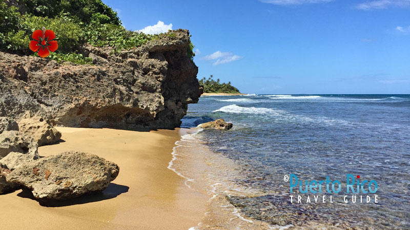 Surfing beaches in Aguadilla, Puerto Rico
