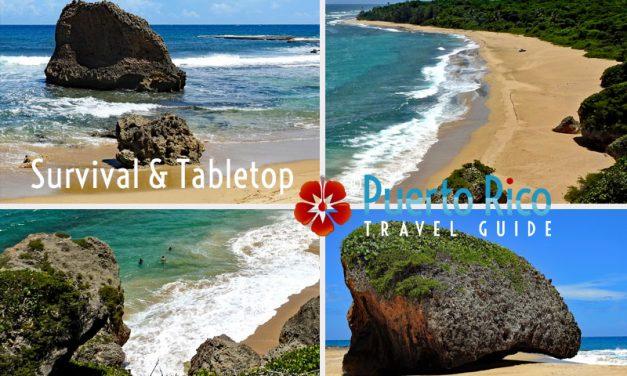 Survival & Tabletop Beach – Aguadilla, Puerto Rico