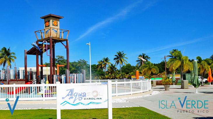 Parque Acuático Infantil Aquasol
