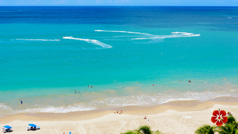 Isla Verde Beach - Best beaches in Puerto Rico
