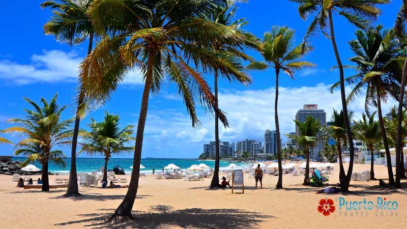 Condado Beach - Best beaches near San Juan Airport - Puerto Rico