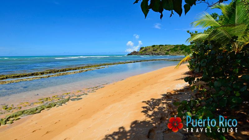 Playa Escondida Beach - Fajardo, Puerto Rico