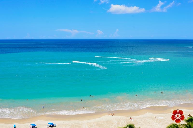 Isla Verde Beach - Carolina, Puerto Rico