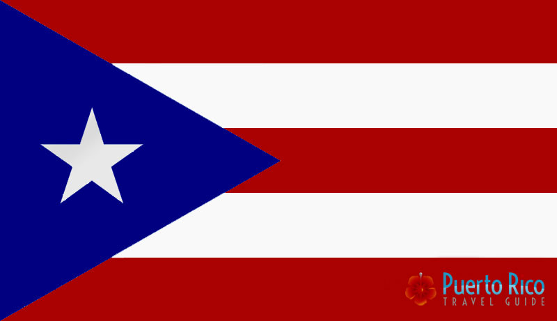 Official Puerto Rico Flag