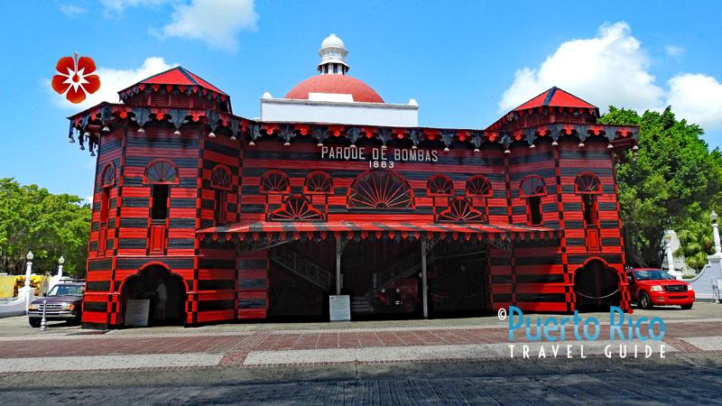 Parque de Bombas - Ponce, Puerto Rico