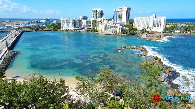 Playita del Condado - Best beaches near San Juan Airport - Puerto Rico