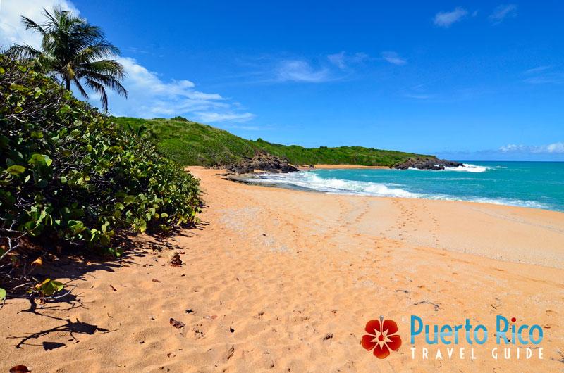 Playa Colora Beach - Fajardo, Puerto Rico