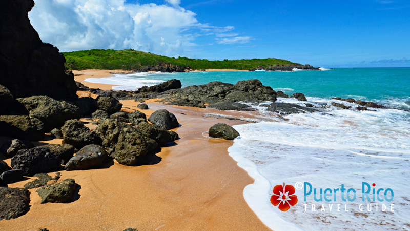 Playa Colora - Beaches on the east coast of Puerto Rico