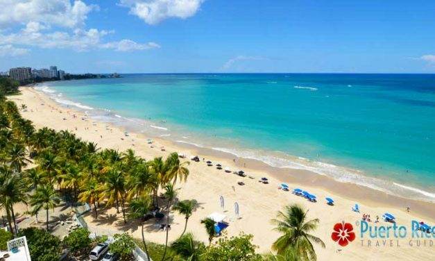 <center>Best Beaches in Puerto Rico near San Juan (SJU) Airport & Cruise Ports <BR><h3>Beaches, Best Tours Nearby, Map, Visiting Tips</h3></center>
