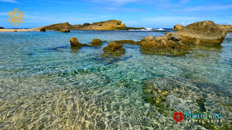 Poza Las Golondrinas - Puerto Rico Most Beautiful Beaches