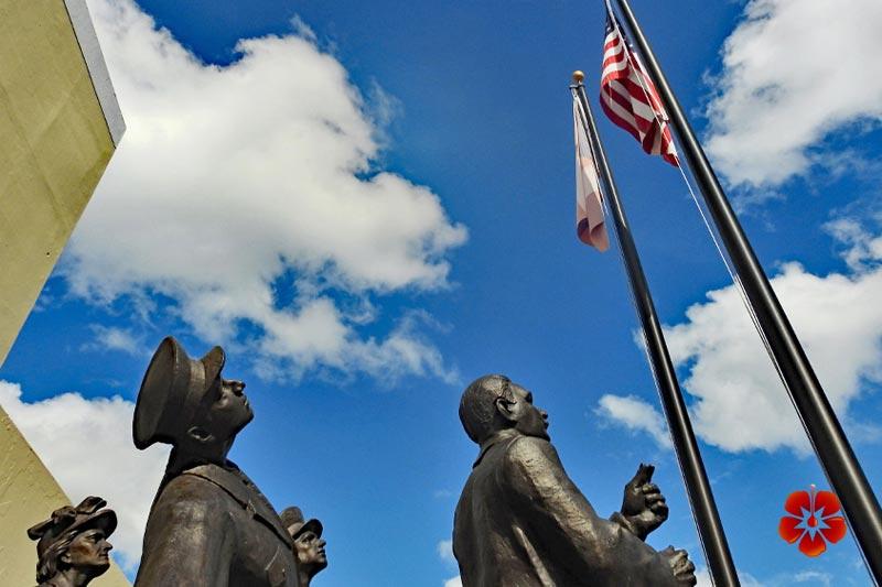 Constitution. Monument - Dorado, Puerto Rico