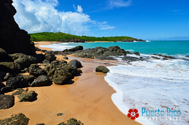 Playa Colora - Beach on the East Coast of Puerto Rico