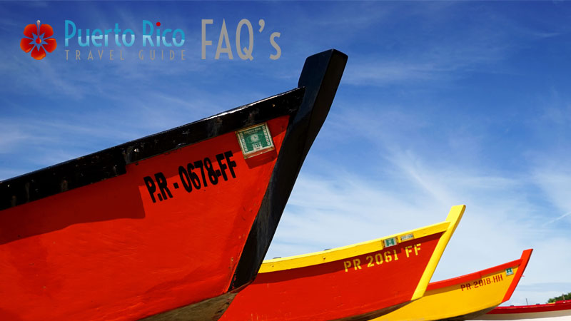 Frequently Asked Questions - Puerto Rico Travel Guide