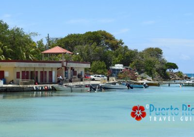 Fishing village in Guanica, Puerto Rico