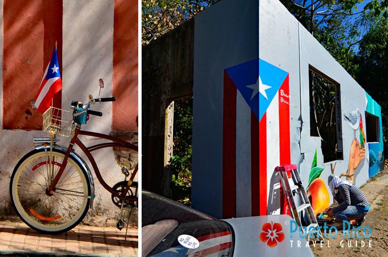 Puerto Rico Flag / Bandera de Puerto Rico