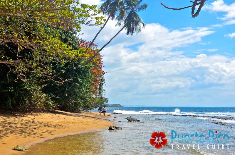 Tres Palmas / Steps Beach - Rincon, Puerto Rico