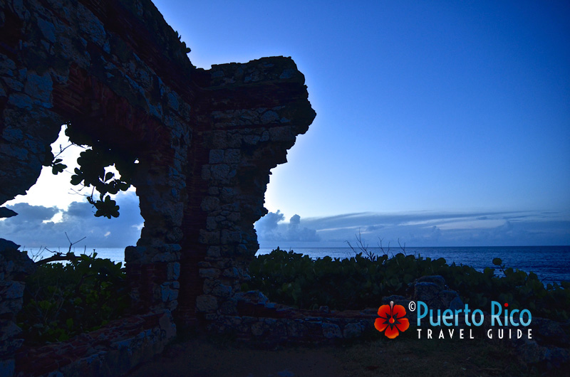 Lighthouse ruins in Aguadilla, Puerto Rico