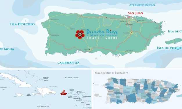 Puerto Rico Maps <BR><h3>Tourist Maps of the Best Beaches, Municipalities, Best Places to Visit, Airports, Hotels & More</h3>