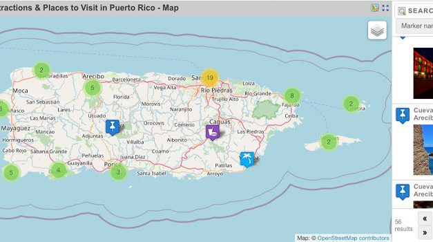Puerto Rico Maps – Top Attractions & Places to Visit by Region