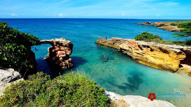 Natural Bridge - Cabo Rojo - Puerto Rico best things to do / places to visit