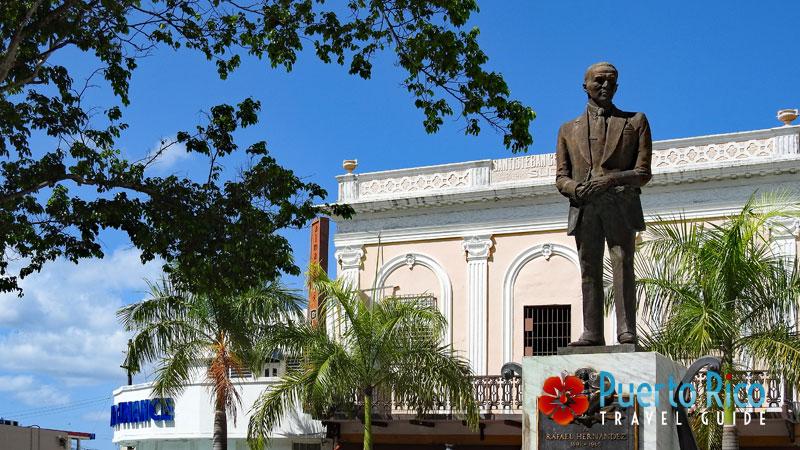 Rafael Hernandez - Composer of Preciosa - Statue in Aguadilla, Puerto Rico
