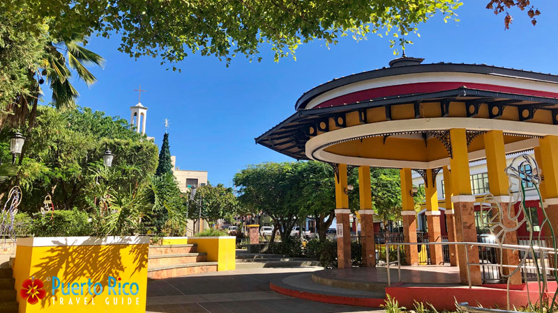 Plaza - Rincon, Puerto Rico
