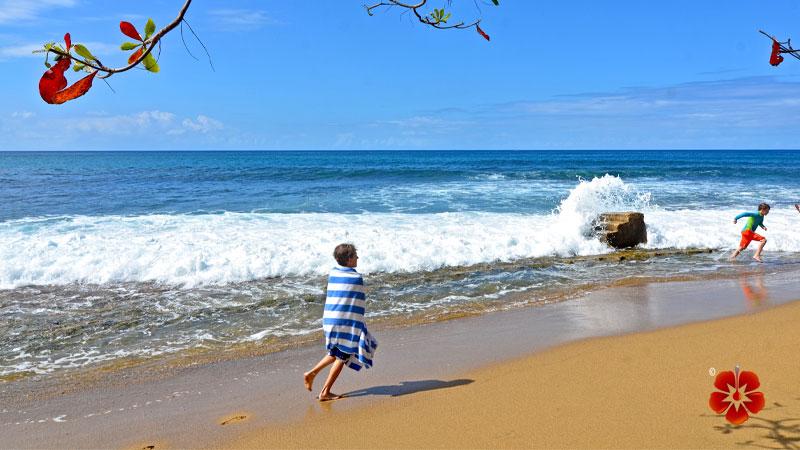 Rincon, Puerto Rico - Steps Beach / Playa Tres Palmas