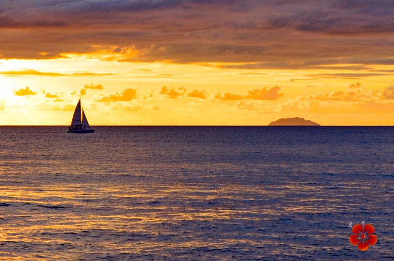 Sunset in Rincon, Puerto Rico