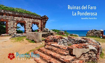 Ruinas del Faro La Ponderosa / Ponderosa Lighthouse Ruins, Aguadilla, Puerto Rico