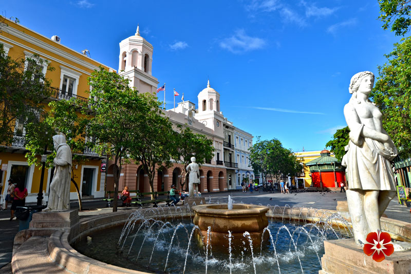 Plaza de Armas - Best Places to Visit in San Juan, Puerto Rico